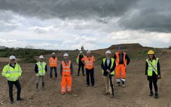 Work begins at Bedford Green Technology and Innovation Park ahead of solar installation