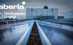 Aberla completes rooftop solar contract with Herefordshire Council
